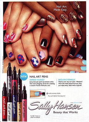 Sally Hansen Nail Art Pens create your own custom nail art You Pick ...