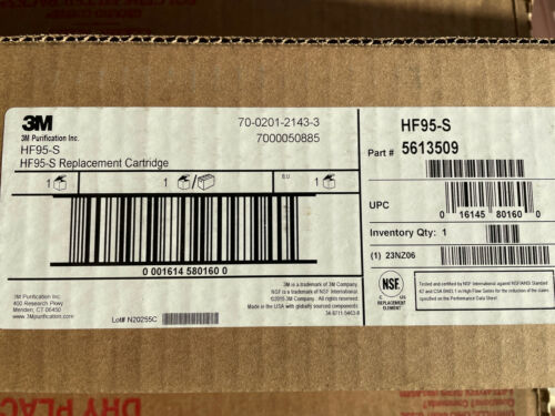 Details about  /3M H95-S REPLACEMENT CARTRIDGE 5613509 UPC 016145801600 NEW
