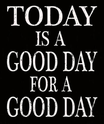 SIXTREES Today is A Good Day for A Good Day 7X11.5 Inch Wood Decorative Box Sign
