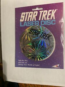 Star-Trek-25th-Anniversary-Original-Series-Hologram-Laser-Disc-1992-NEW-UNUSED