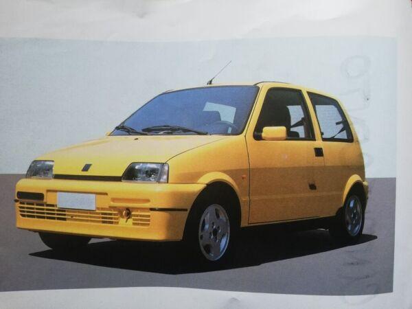 Enthousiast Fiat Cinquecento Manuel Constructeur Notice Emploi Utilisation Entretien Pure Witheid