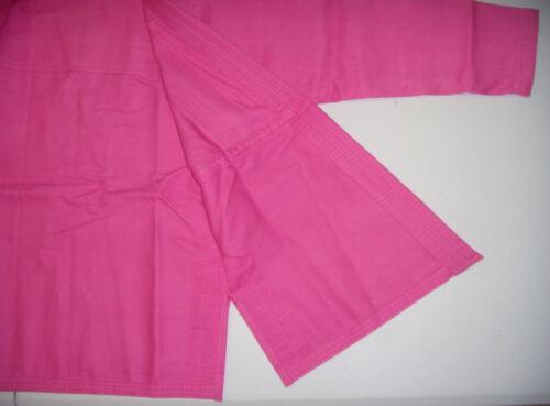 Brazilian Jiu Jitsu Gi for Womens FREE SHIPPING! PINK Pearl Weave PreShrunk