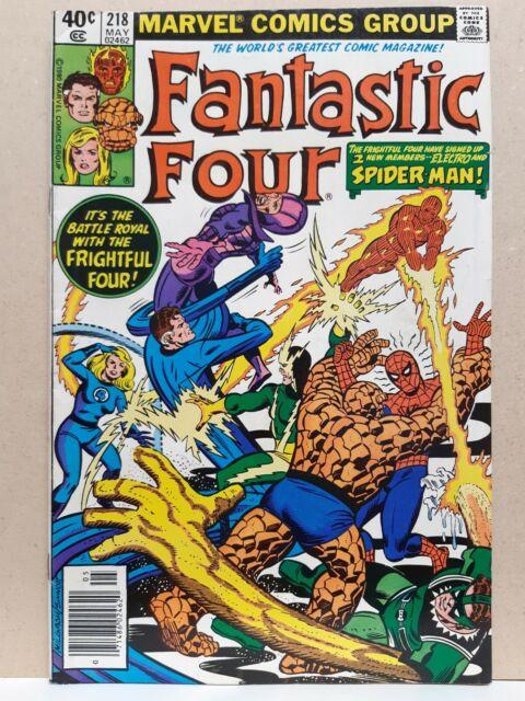 Fantastic Four 218 FN- (5.5) - Marvel Comics 1980