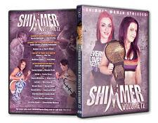 Official Shimmer Women Athletes Volume 72 Female Wrestling Event DVD