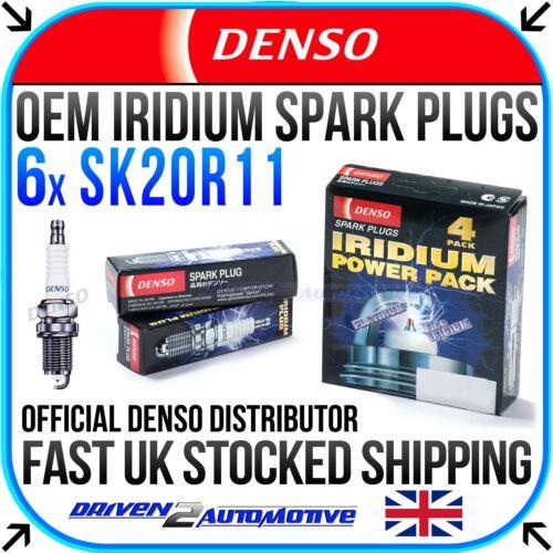 MCU15 300 AWD 10.00-05.03 6x Denso SK20R11 Iridium Spark Plugs for LEXUS RX