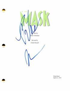 PETER-GREENE-SIGNED-AUTOGRAPH-THE-MASK-MOVIE-SCRIPT-JIM-CARREY-CAMERON-DIAZ