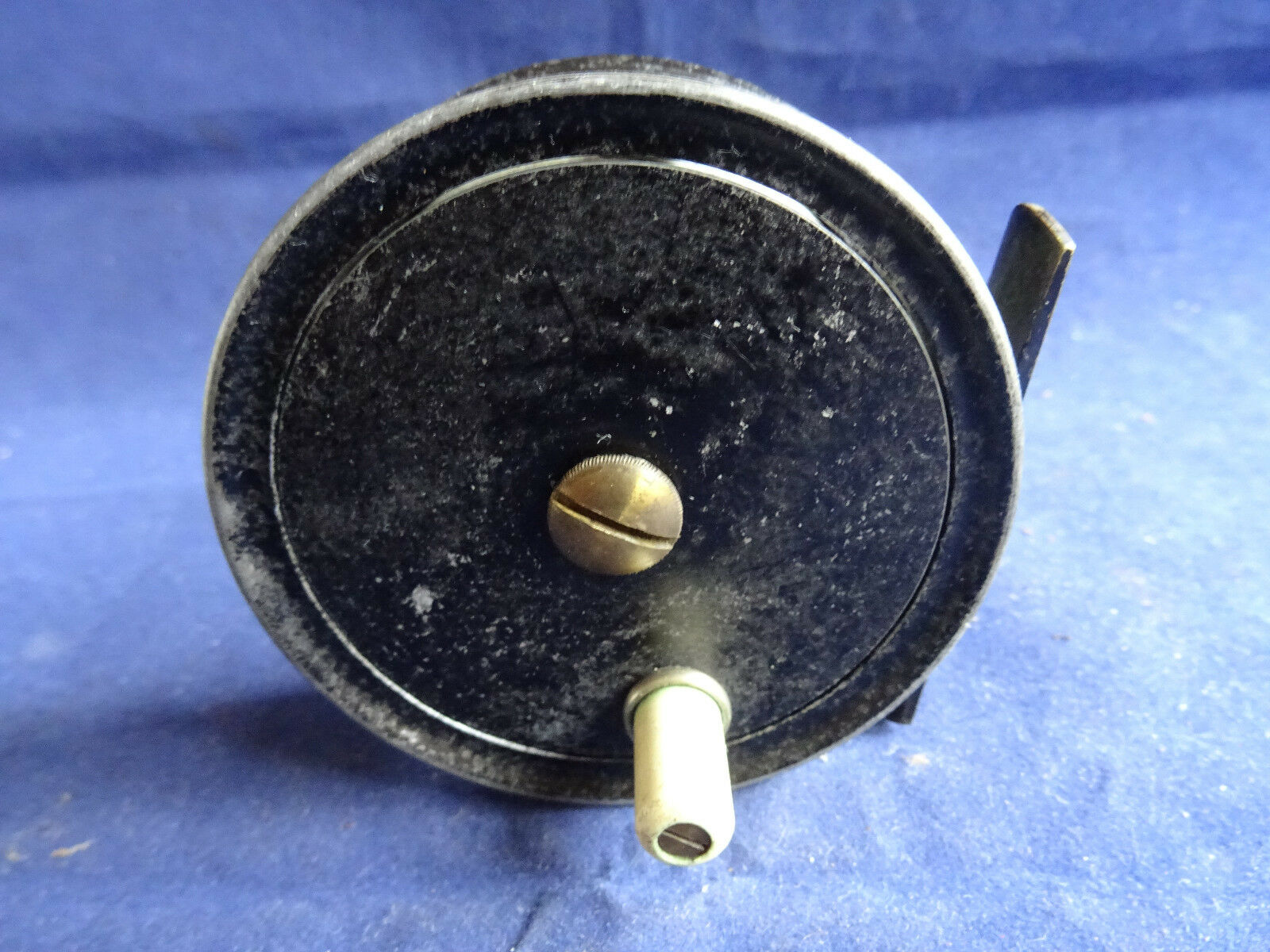 A FINE VINTAGE 3  EATON AND DELLER RETAILED PATTERN 1 TROUT FLY REEL