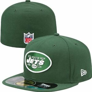 New York Jets Kid s NFL New Era 5950 On Field Green Hat Cap Flat ... 4ea5705b63a5