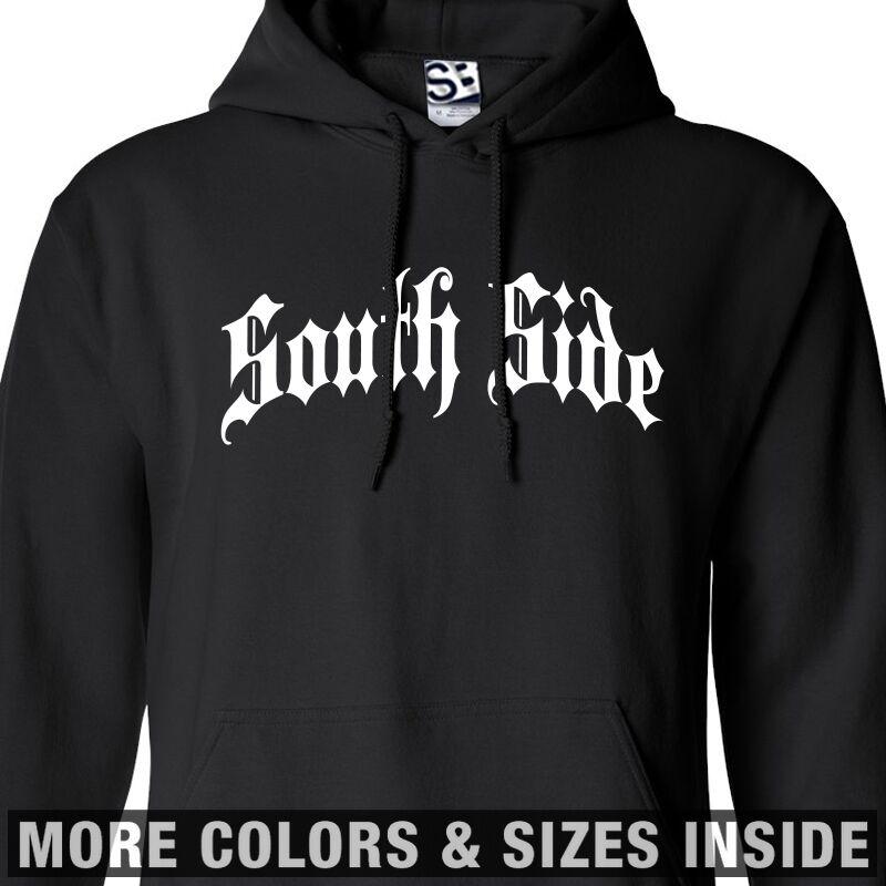 South Side Thug HOODIE Hooded Sweatshirt Gothic Sur Lado - All Größes & Farbes