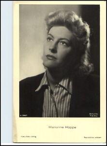 1950-60-Portraet-AK-Film-Buehne-Theater-Schauspielerin-MARIANNE-HOPPE-Foto-Verl