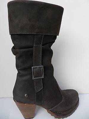 Schick Kneihohe Stiefel Damen Plusgrosse Wadenhohe Boots Mittelhoch Blockabsatz