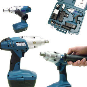 Image Is Loading 24v Cordless Impact Wrench Soft Grip Tool Construction