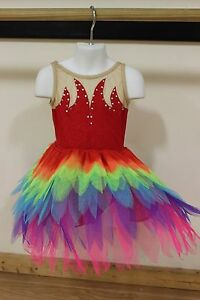 Girls New Never Worn Ballet Tap Jazz Competition Pageant Dress Up Costume