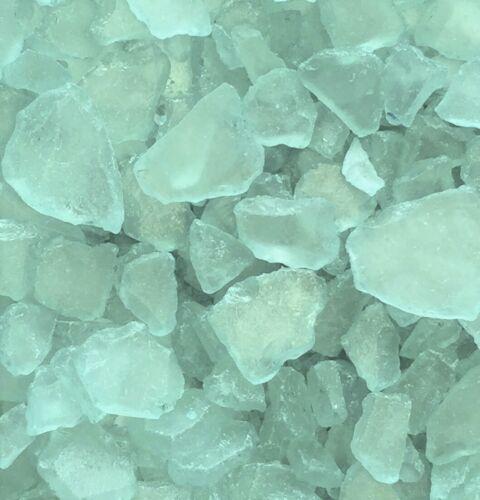 Mosaikglas Glasscherben ca 20-50 mm Glas- Bruch SEEGLAS 1 kg blau TÜRKIS