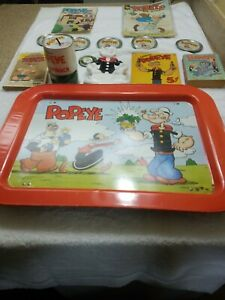 Lot-Of-Popeye-Cartoon-Character-Collectables