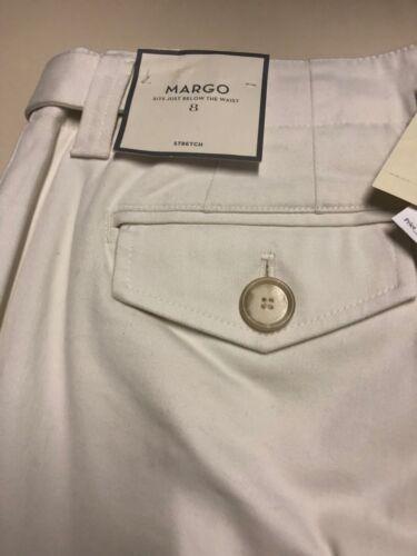 Pantaloni Margo Taylor Taglia Ann 8 31 Nwt da Ivory X donna r7qIrP