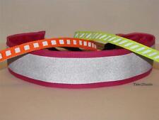 Set of 3 Reflective Non slip Adjustable Headbands, Sweaty Sports Hair Bands