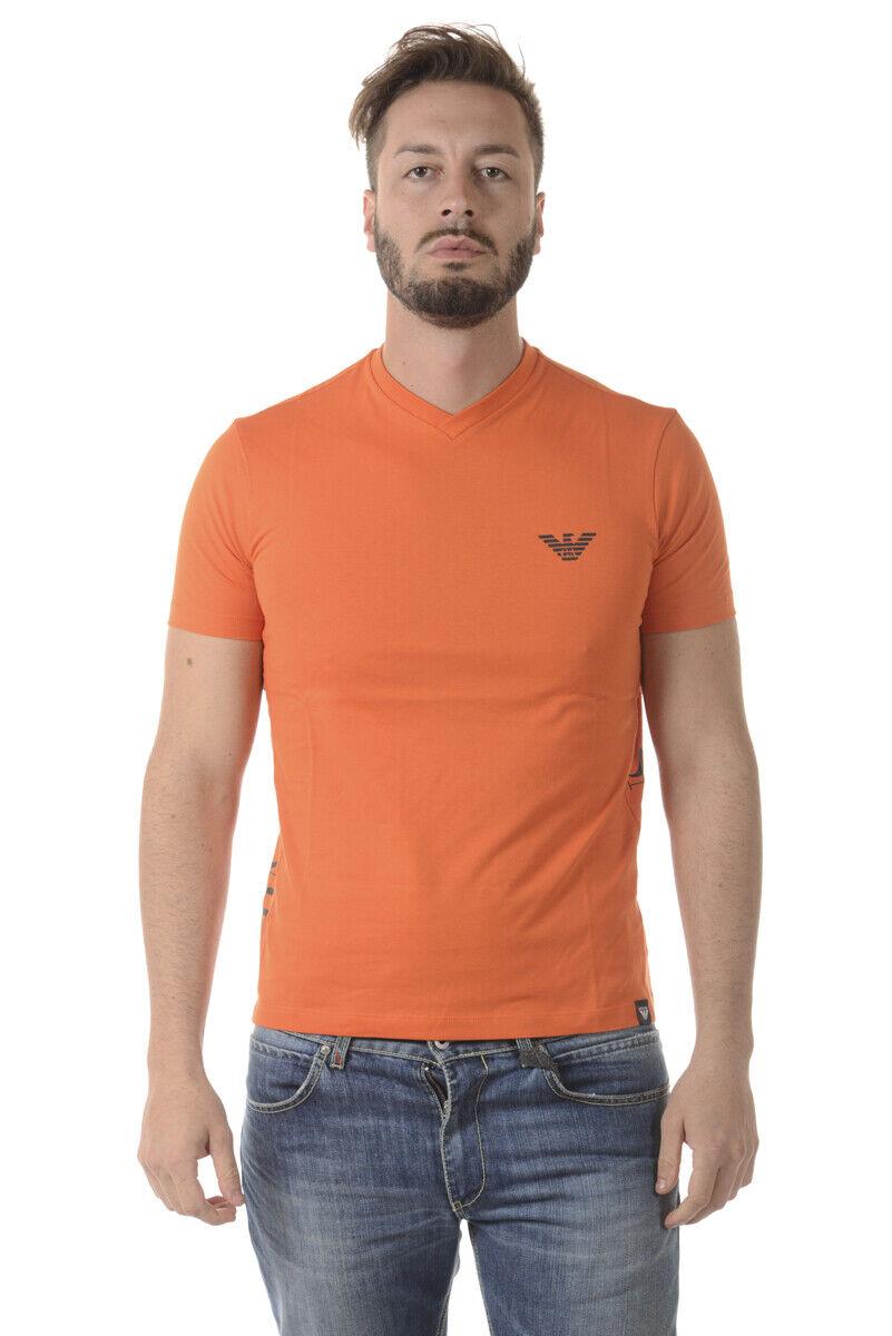 Armani Jeans T hemd schweißhemd Man Orange 6Y6T166J00Z 1665 Sz XL MAKE OFFER
