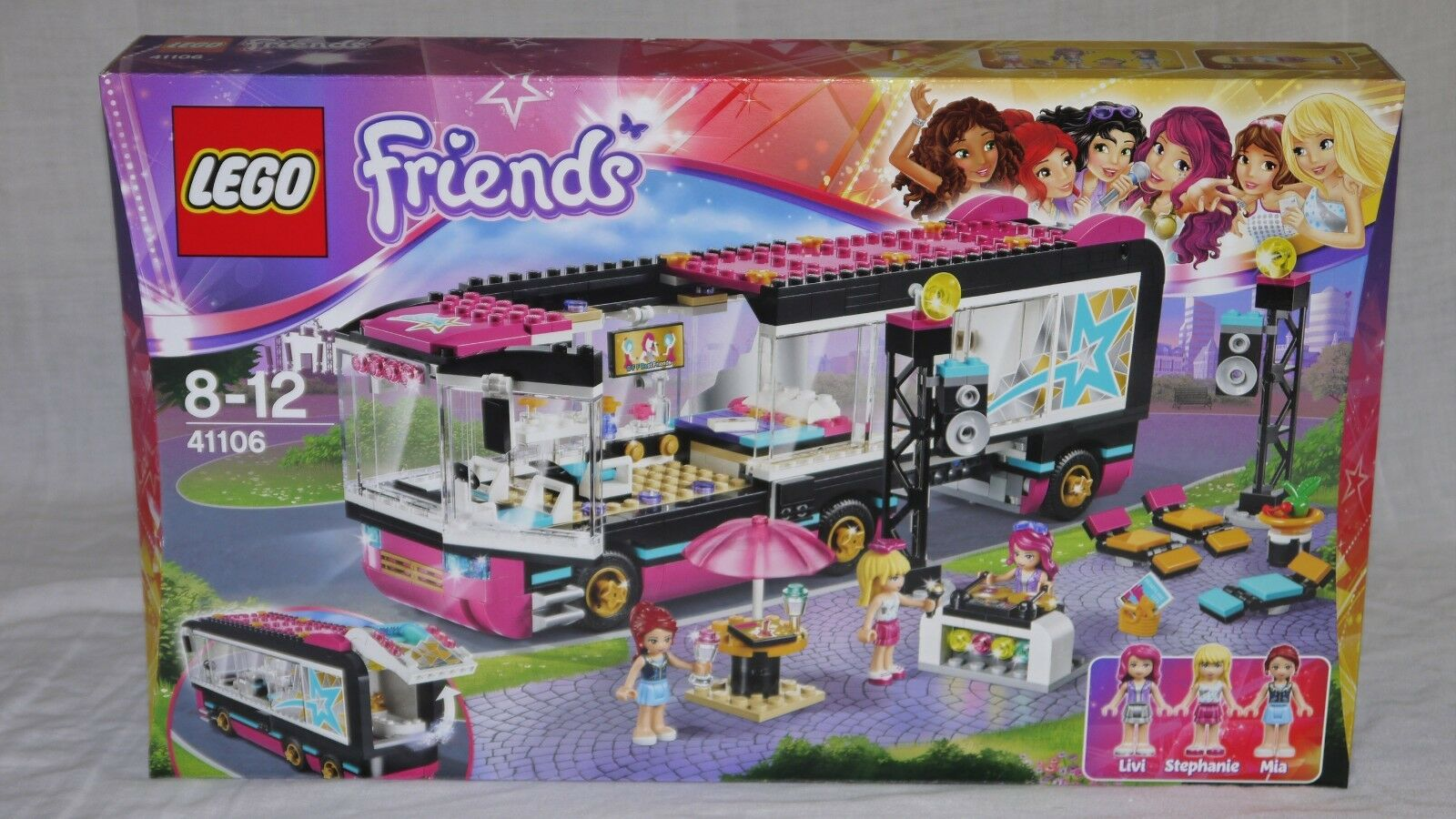 LEGO Friends 41106 POP STAR TOUR BUS - Brand new sealed box