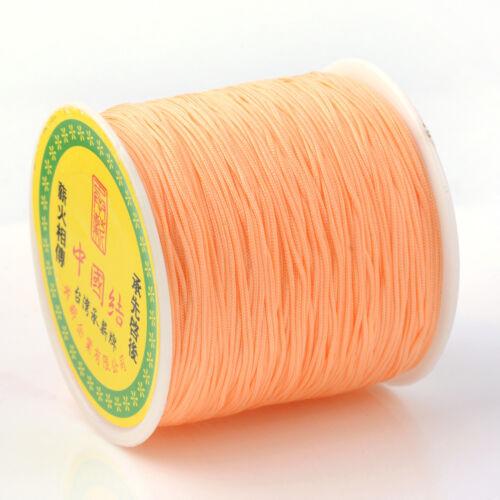 1 Roll  Cord Imitation Thread Beading Cord Fabric Crafting String