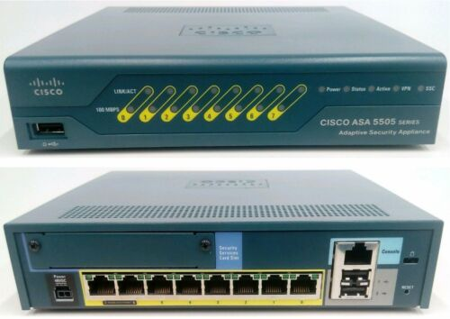 1 von 1 - ★★★★ Cisco ASA5505-BUN-K9 with 512MB RAM 10 User & 3DES/AES256 5505-BUN-K9 5505