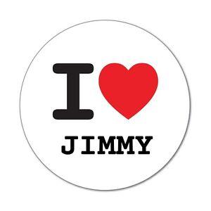 I-Love-Jimmy-autocollant-sticker-decalque-6cm