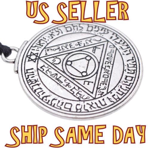 Neuve Vintage Salomon Juif Pentacle Argent Joint Talisman Collier