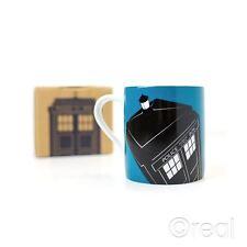 New Doctor Who Blue TARDIS Ceramic Mug Coffee Official