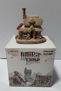 Lilliput-Lane-034-circular-Cottage-034-de-coleccion-Blaise-Hamlet