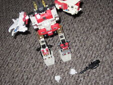 g1 transformers autobot combiner superion loose partially complete