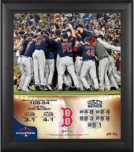 Boston-Red-Sox-2018-World-Series-Champs-Framed-15-034-x-17-034-Collage-Fanatics