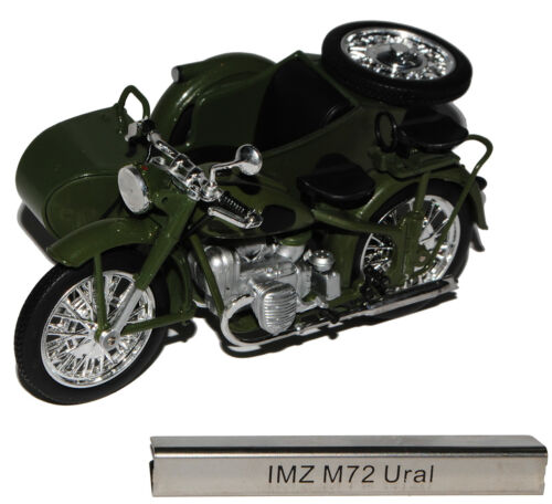 Imz m72 Ural con páginas carro verde RDA atlas collection 1//24 modellcarsonline M..