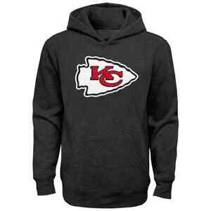 the latest f71a7 c9e43 Details about Kansas City Chiefs NFL Boys Promo Hoodie, Size XS (4/5), New  With Tag