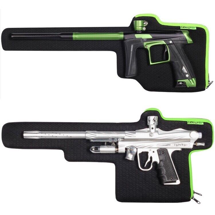 Exalt Gun Sleeve Paintball Markierer Tasche (black green) Modern