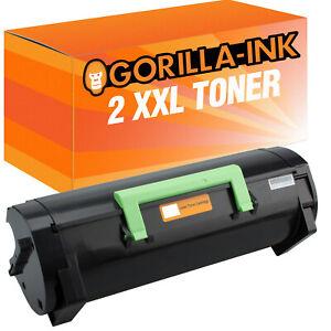 Laser-Toner-Kartusche-2x-XXL-fuer-Lexmark-MX310-MX-310-DN-MX-410-DE-MX-310-DN