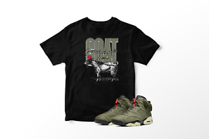 Crowned-GOAT-Graphic-T-Shirt-to-Match-Air-Jordan-6-Retro-Travis-Scott-All-Sizes
