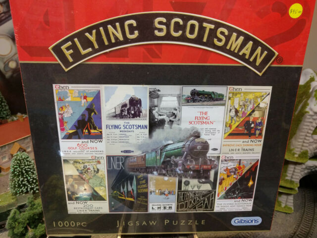 Gibsons G6034 Flying Scotsman 1000 pce jigsaw puzzle