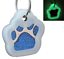 Glitter-Paw-Print-Pet-ID-Tags-Custom-Engraved-Dog-Cat-Tag-Personalized thumbnail 19
