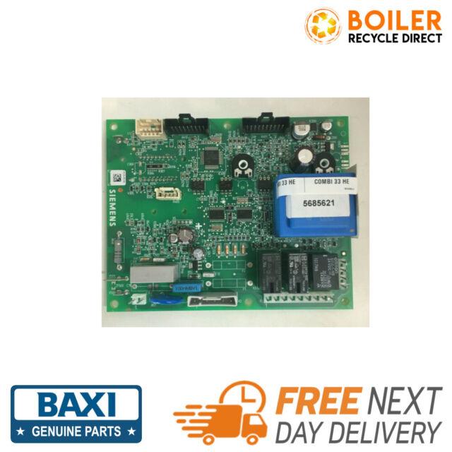Baxi Duotec Combi 33HE /& Platinum Combi 33HE Plus PCB 5120219 720795201