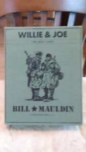 Willie-and-Joe-The-WW-II-Years-by-Todd-DePastino-ed-Bill-Maudlin-and-Bill-M
