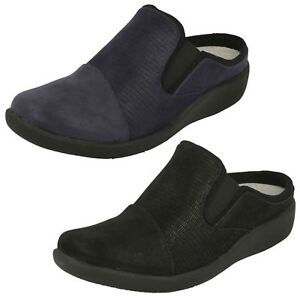 Mujer Cloudsteppers Zapatos 'sillian Clarks Sin Gratis' Talón aqwW8