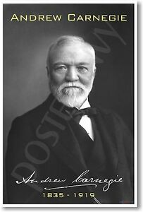Andrew-Carnegie-Famous-Person-Entrepreneur-Classroom-NEW-POSTER