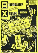THE MAIN EVENT Alternative Dance Flyer Flyers A5 16/2/96 Powerhouse Birmingham