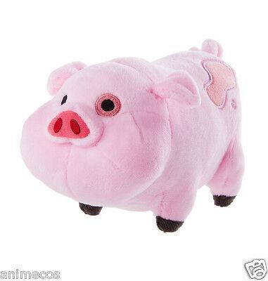 "Gravity Falls Waddles The Pink Pig 6"" Stuffed Animal Plush Toy Doll"