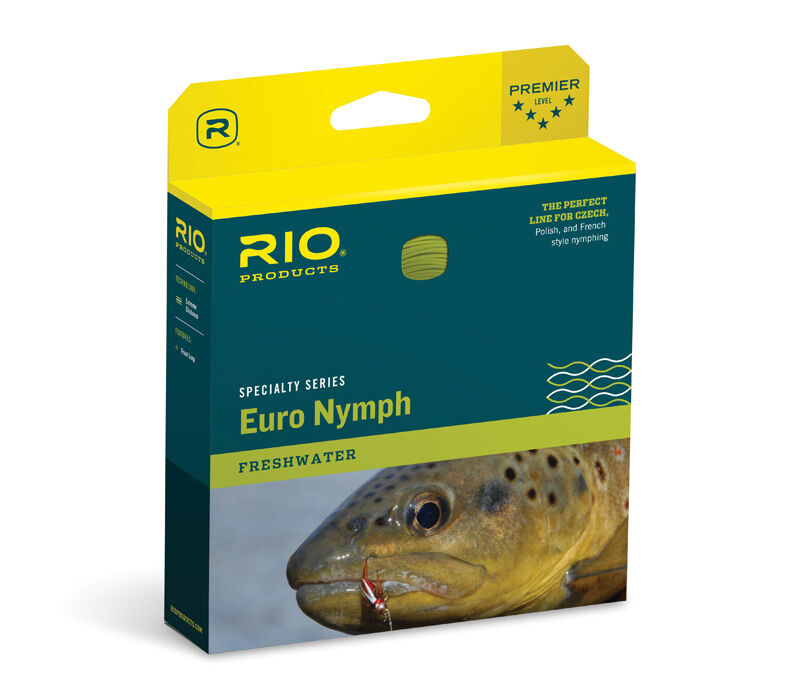 Rio FIPS Euro Nymph Fly Line FREE SHIPPING  -- Streams of Dreams Fly Shop