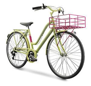 Dettagli Su Bicicletta Klass Amalfi Da Donna 28 Cambio Shimano Bici Bike Classica Retrò