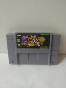 Tetris-amp-Dr-Mario-Super-Nintendo-1994-SNES-AUTHENTIC-Good-read-description