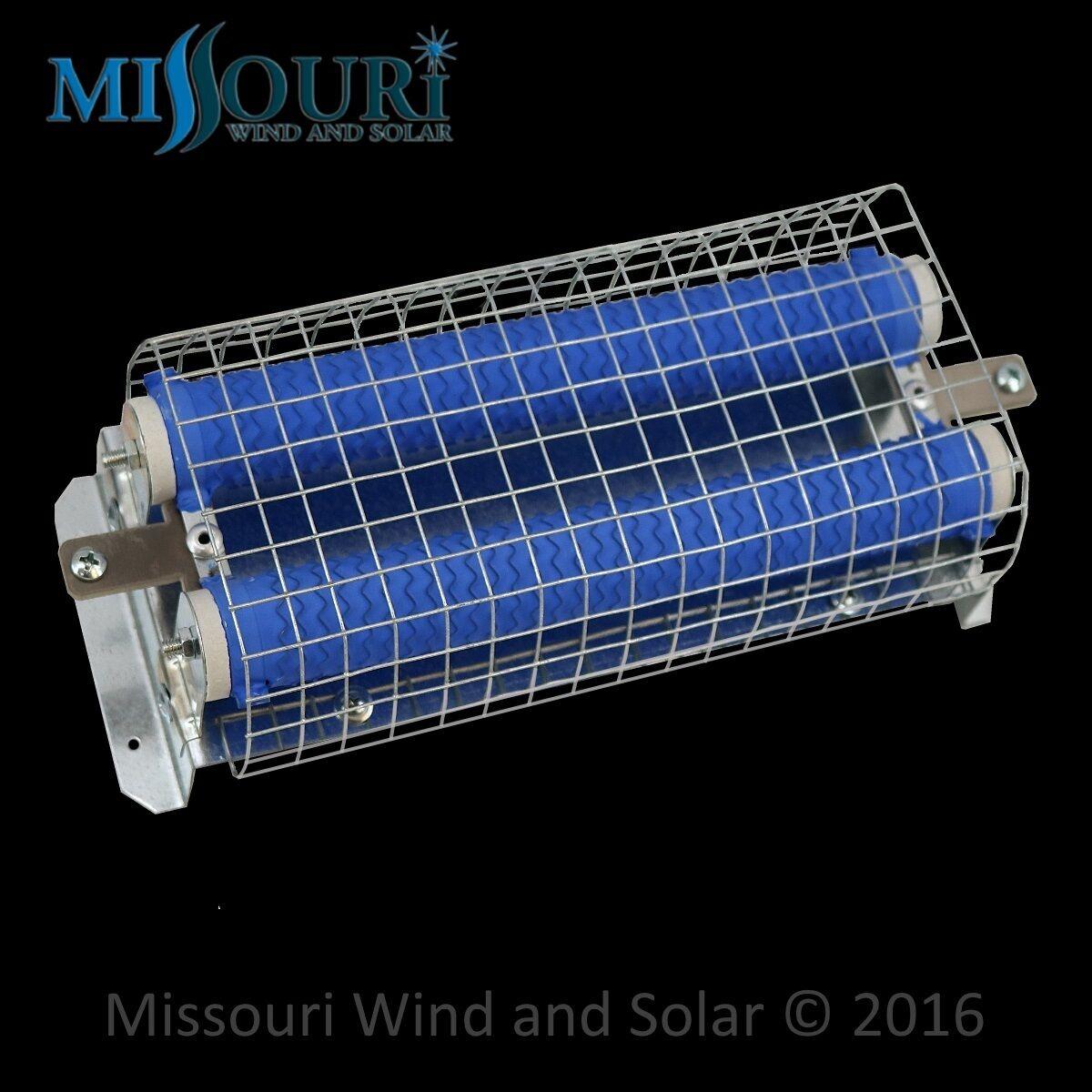 2.75 Ω 300 WATT 24 VOLT WIND GENERATOR /& SOLAR RESISTOR DIVERSION DUMP LOAD RED
