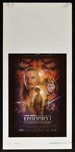 Plakat Star Wars Episode I Die Bedrohung Gespenst N61