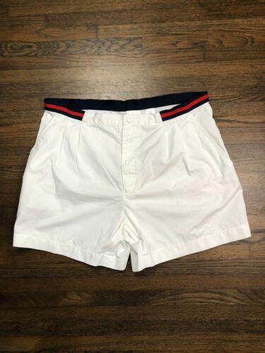 FILA Vintage Mens White Tennis Shorts / VintageSho